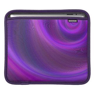 Purple night storm iPad sleeve
