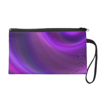 Purple night storm wristlet