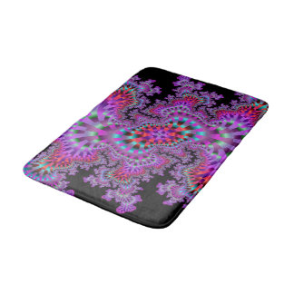 Purple Nightmare Bath Mat Bath Mats
