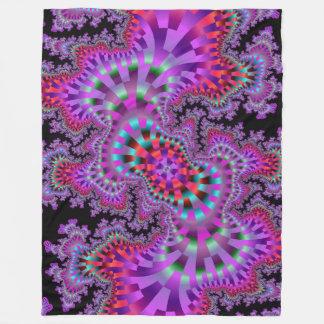 Purple Nightmare Fleece Blanket