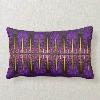Purple Nouveau Window Throw Pillow