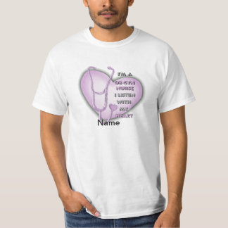 Purple OB Gyn Nurse Value T-Shirt