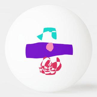 Purple Ocean Ping Pong Ball
