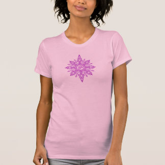 Purple Om Star Tee Shirt