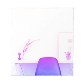 Purple Ombre Chair From The Desk Of Notepad