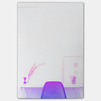 Purple Ombre Chair From The Desk Of Post-it Notes