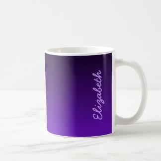 Purple Ombre Coffee Mug