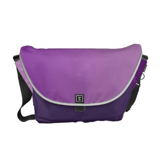 Purple Ombre Courier Bag