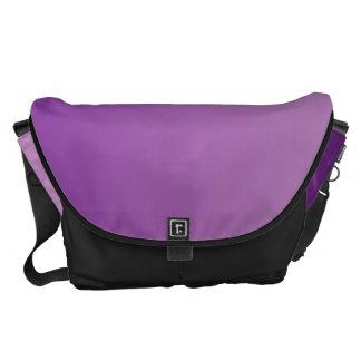 Purple Ombre Courier Bags