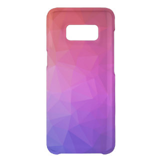 Purple Ombre Modern Geometric Pattern 3 Uncommon Samsung Galaxy S8 Case