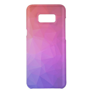 Purple Ombre Modern Geometric Pattern Uncommon Samsung Galaxy S8 Plus Case