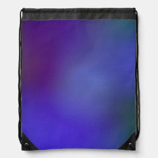 Purple on Purple Drawstring Bags