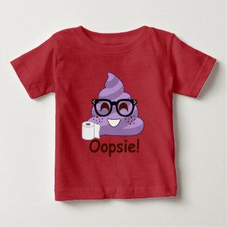 Purple Oops Poop Baby T-Shirt
