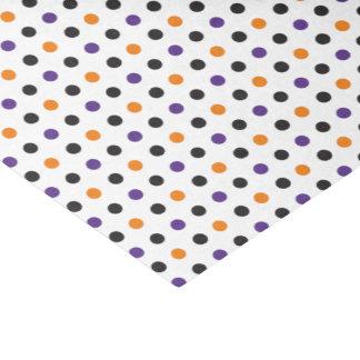 Purple Orange and Black Halloween Tissue Paper