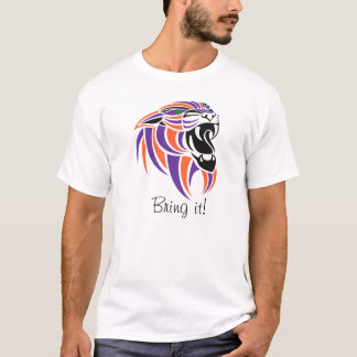 Purple, Orange, Black, Bring It! T-Shirt