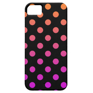 Purple Orange Polka Dot iPhone 5 Covers