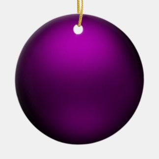 Purple Orb Ornament