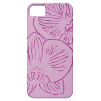 Purple Orchid Abstract Art iPhone 5 Covers