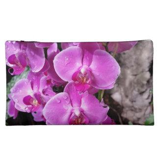 Purple Orchid Makeup Bags
