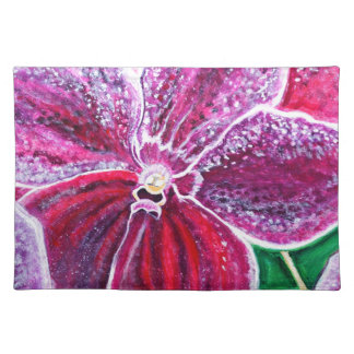 Purple Orchid Bloom Placemat
