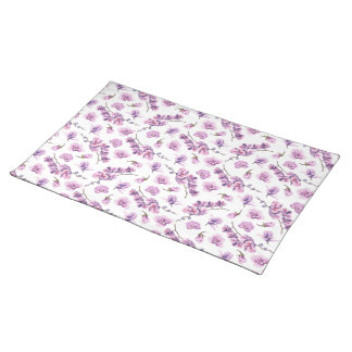 Purple Orchid Cloth Placemat