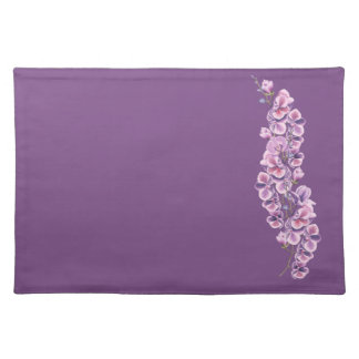 Purple Orchid place mat