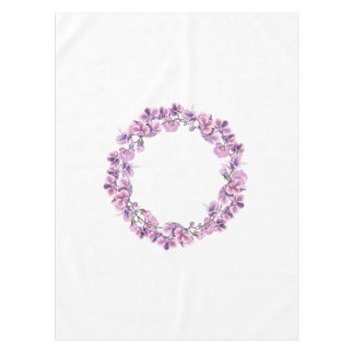 Purple Orchid Table cloth