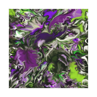 Purple Orchids  by Tawny's Uniques Canvas Print