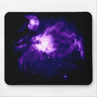 Purple Orion Nebula : Galaxy Mouse Pad