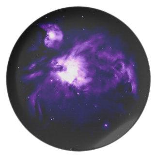 Purple Orion Nebula : Galaxy Plate
