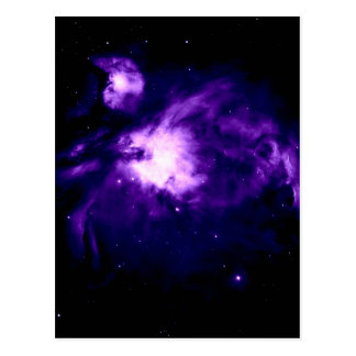 Purple Orion Nebula : Galaxy Postcard