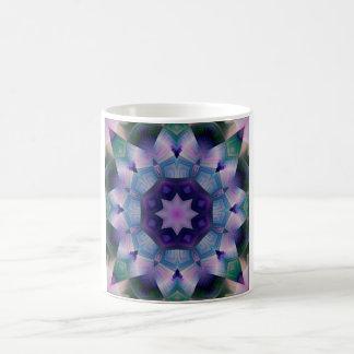 Purple Ornamental Tile Coffee Mug