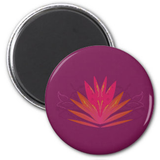 Purple ornaments luxury magnet