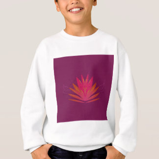 Purple ornaments luxury sweatshirt