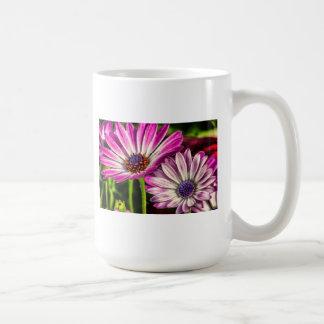 Purple Osteospermum Basic White Mug