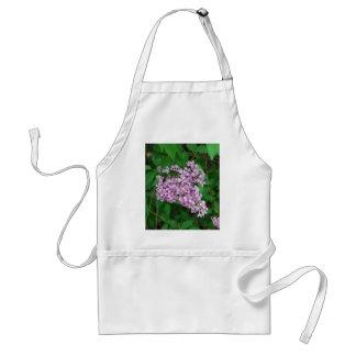 Purple Outdoor Flower Bush Standard Apron