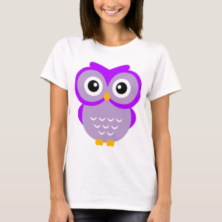 Purple Owl T T-Shirt