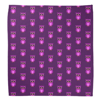 Purple Owly TP Bandana