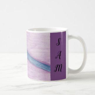 Purple Paint Brush Coffee Mug
