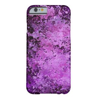 Purple Paint Splatter Acid Wash Texture iPhone 6 Case