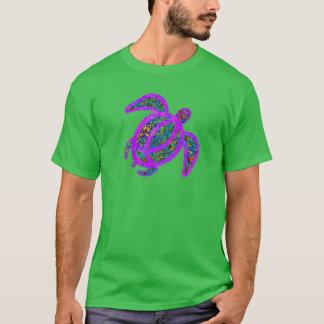 Purple Painted Turtle T-Shirt