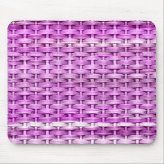 Purple painting wicker art graphic design mouse pad