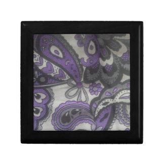 Purple Paisley Gear Gift Box