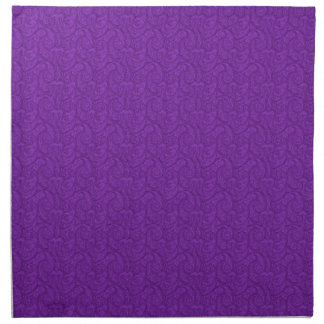 Purple Paisley Napkin