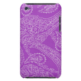 Purple Paisley Print Summer Fun Girly Pattern iPod Touch Cover