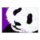 purple panda card