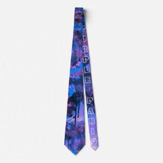 Purple PaNic Tie Design