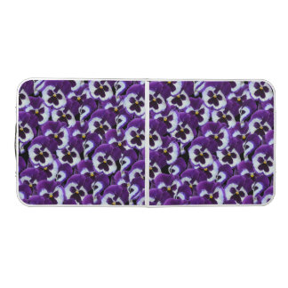 Purple Pansies, Aluminum Folding Table