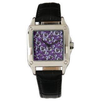 Purple Pansy Bouquet, Watch