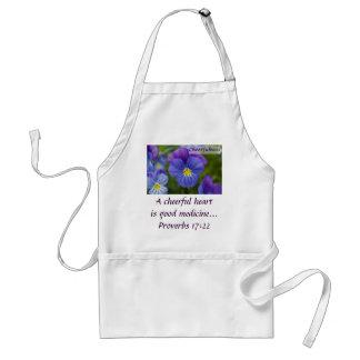 Purple Pansy - Cheerfulness Standard Apron